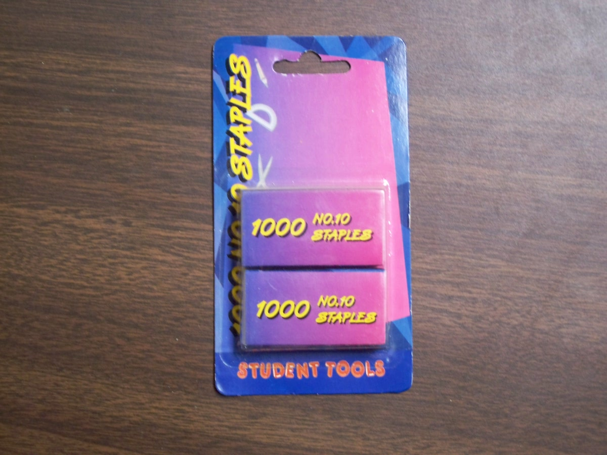 1000 No. 10 Staples