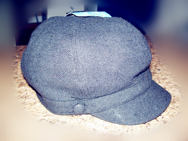 Women's Hat Black One Size