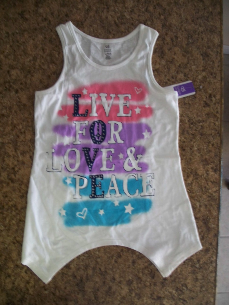 Bobbie Brooks Live for Love & Peace Sz XS 4-5