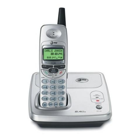 2.4 GHz Cordless Telephone with Caller ID/ Call Waiting