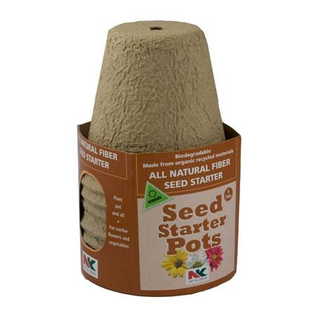 All Natural Seed Starter Pots