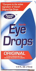Family Care Sterile Eye Drops 1/2 oz.