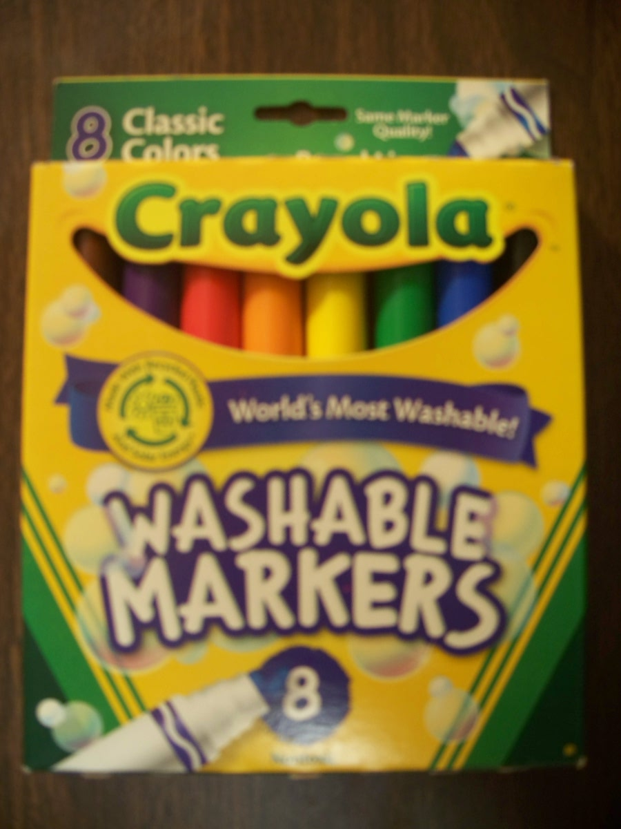 Crayola Washable Markers (Classic Colors 8 )