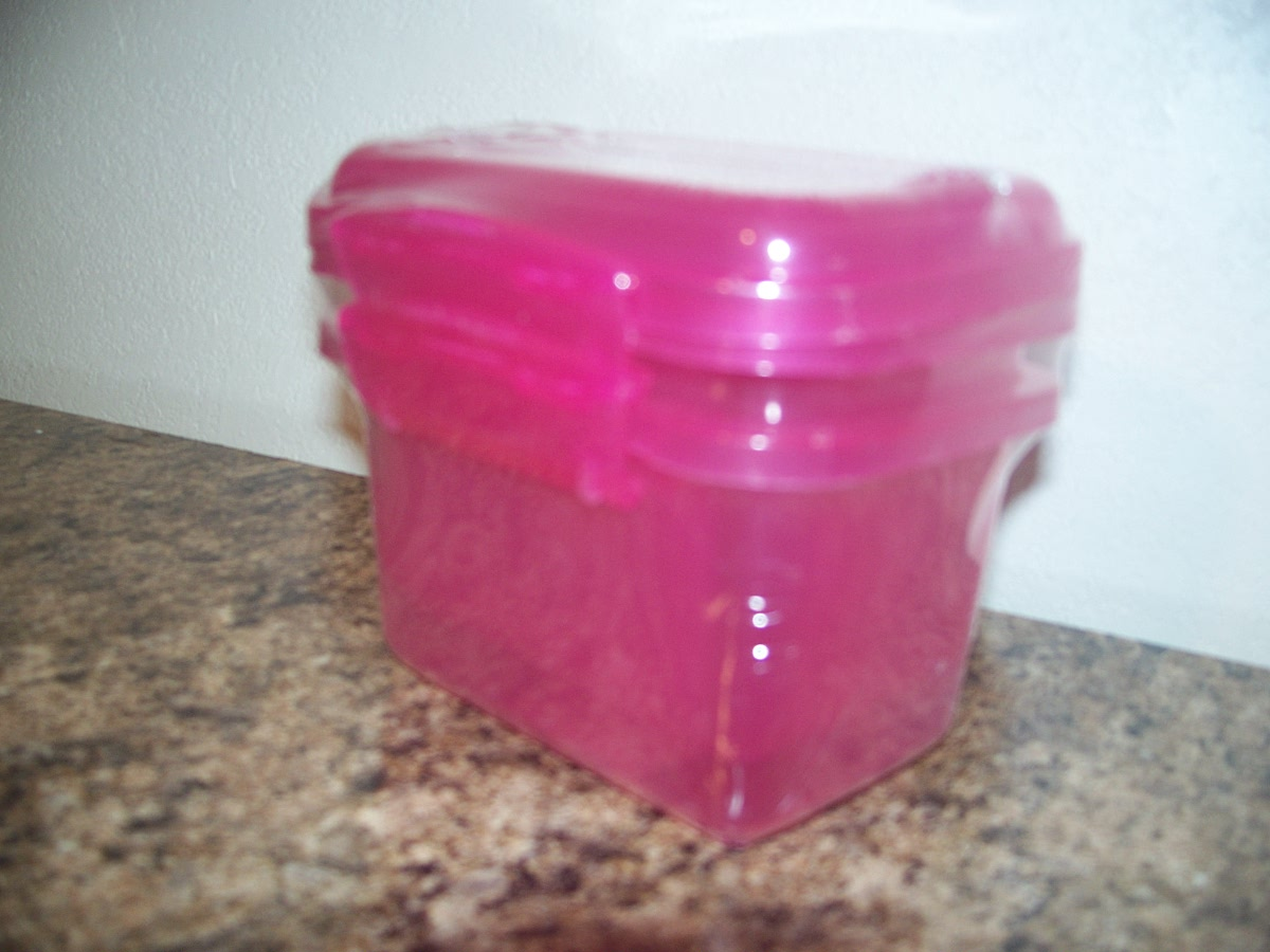 Pink Mini Containers