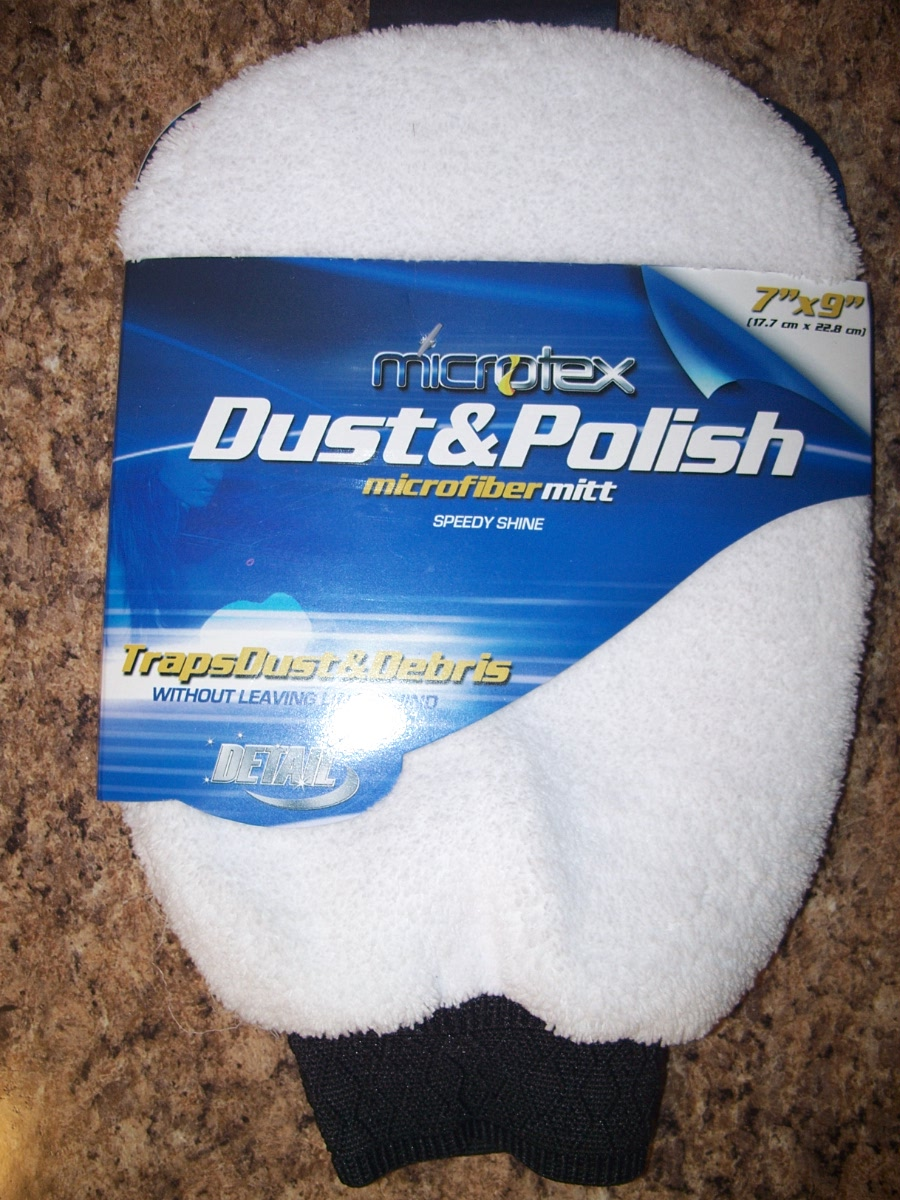 Microtex Dust & Polish Microfiber Mitt