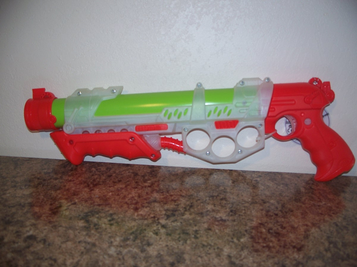 Stream Blaster (Red,white,green )
