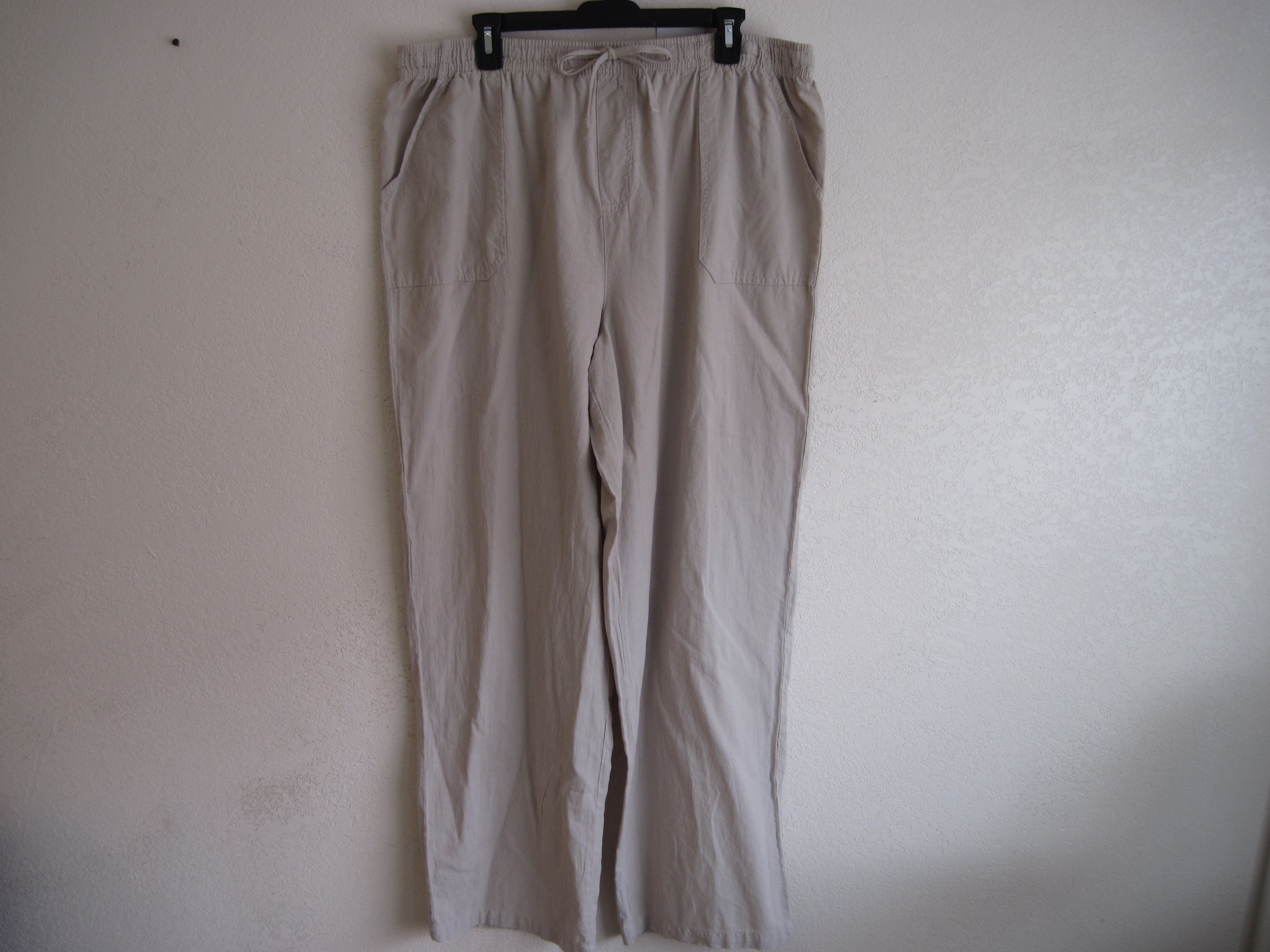 Basic Editions Sz XL Pants (Tan)