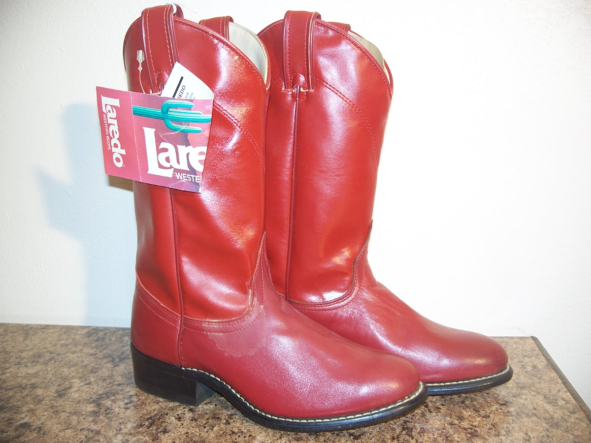 Laredo Western Boots Red 5 1/2 m