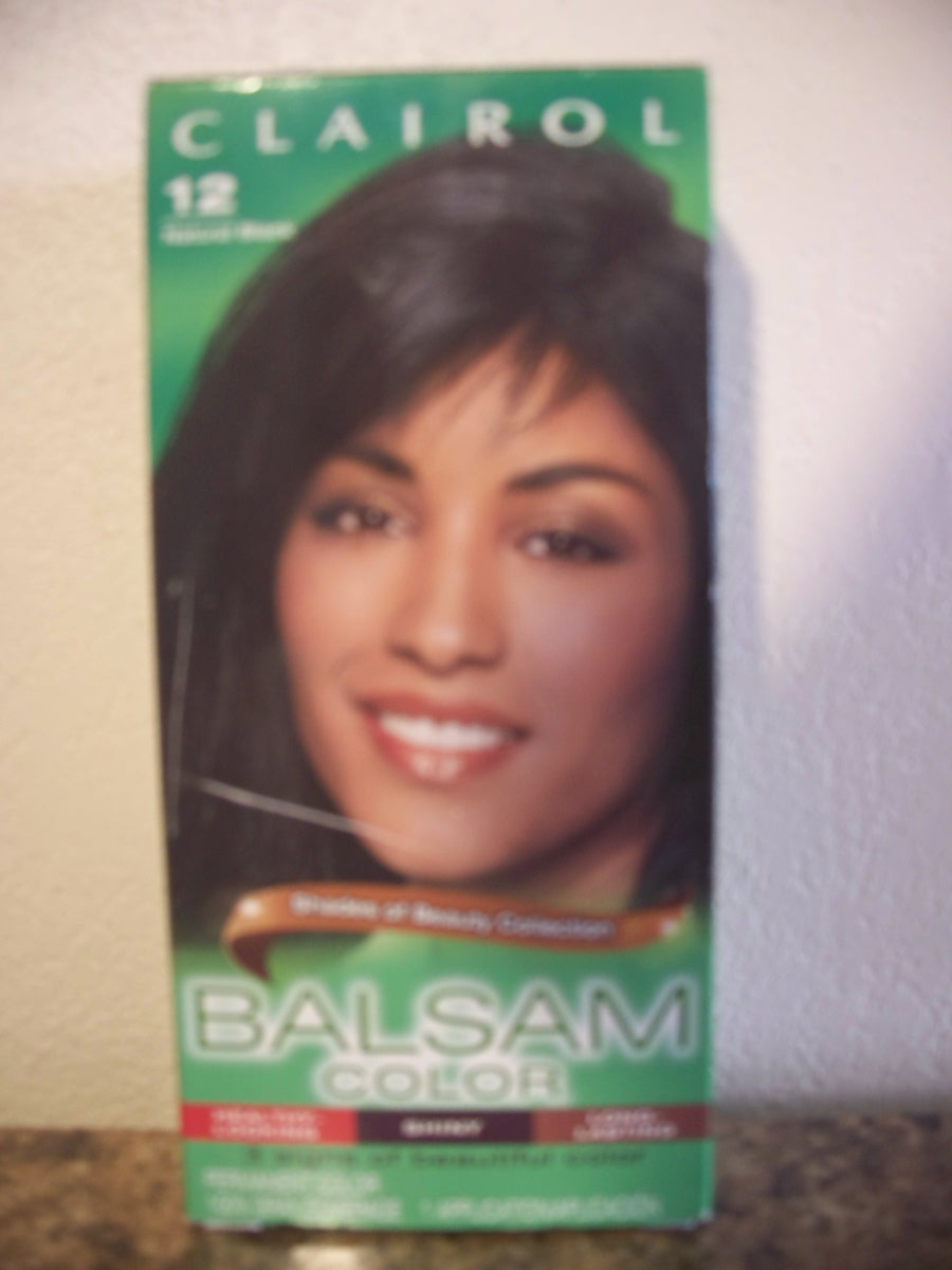 Clairol Balsam Color (#12 Natural Black)