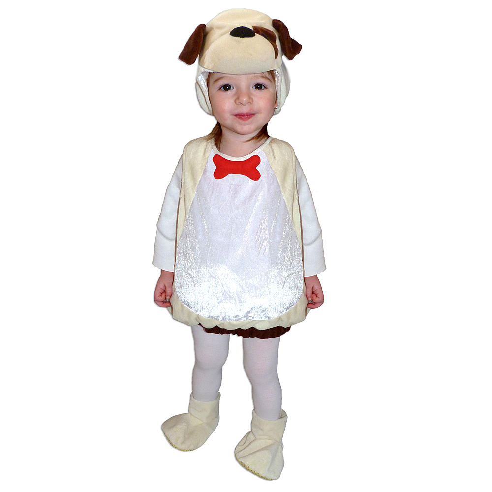SPOTTED DOGGY VEST HALLOWEEN TODDLER 2T