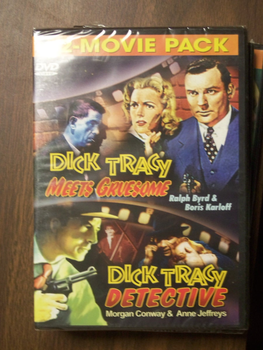 Double Feature~~Dick Tracy Meets Gruesome / Dick Tracy Detective