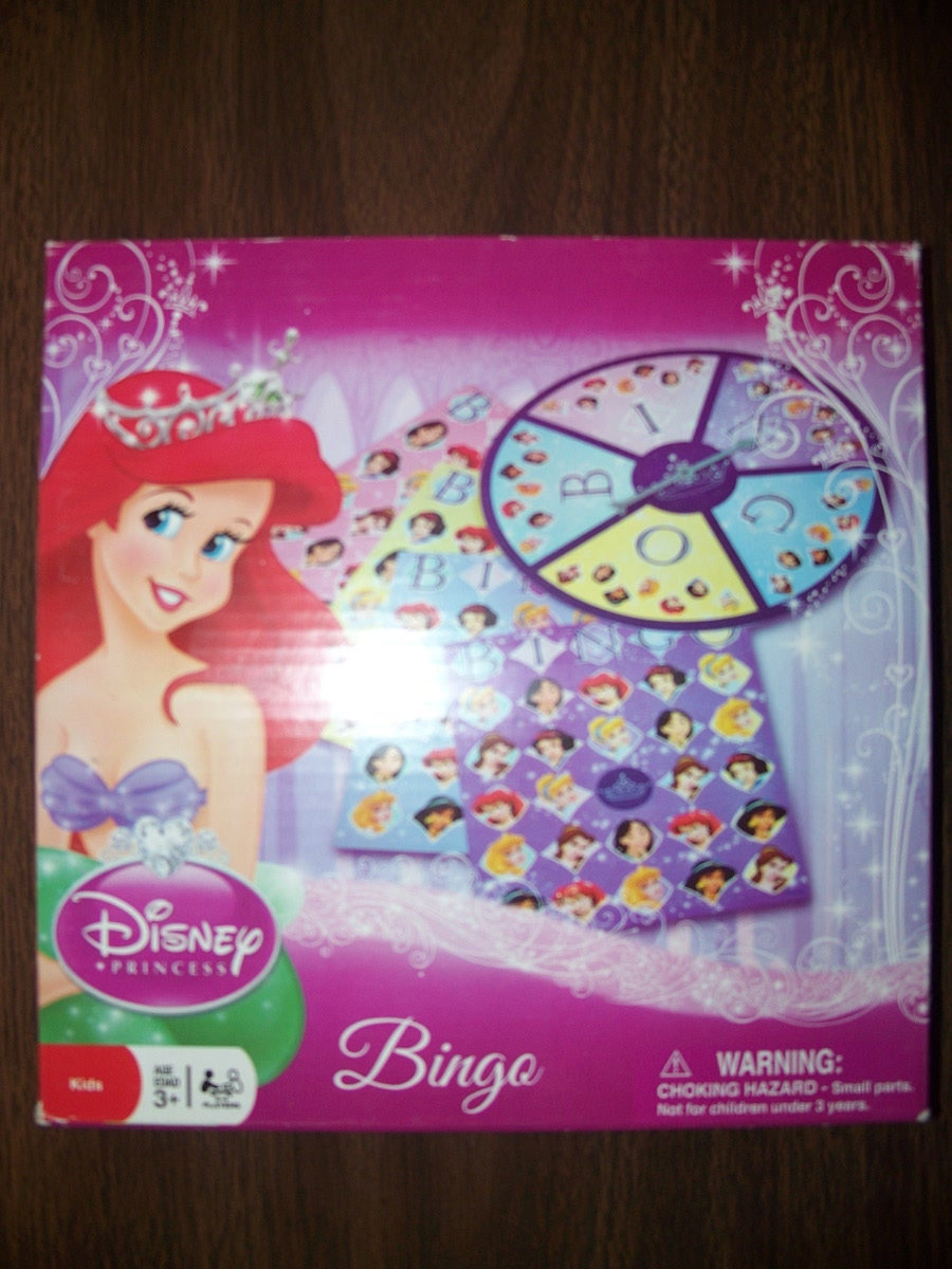 Disney Princess Bingo