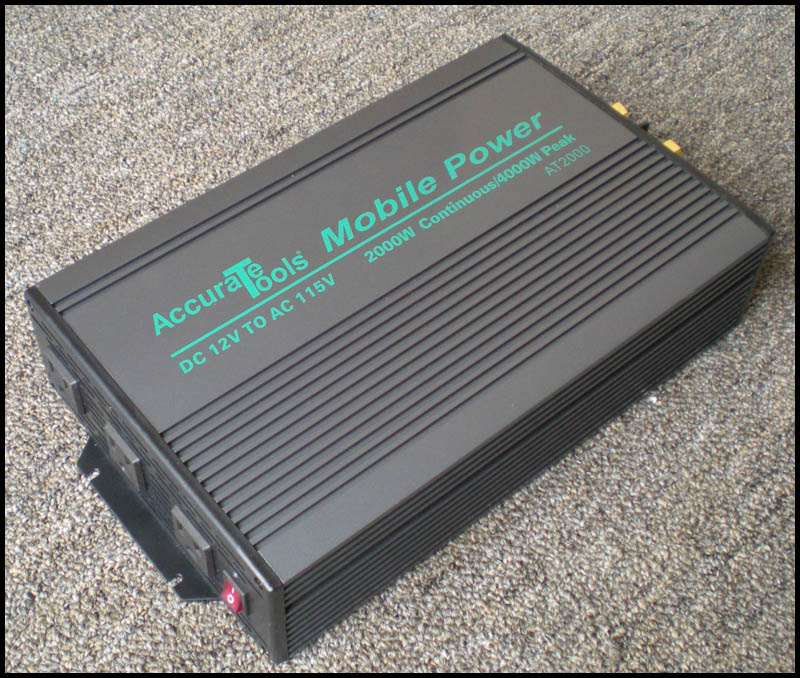2000/4000 WATT 12V DC TO 115V AC POWER INVERTER