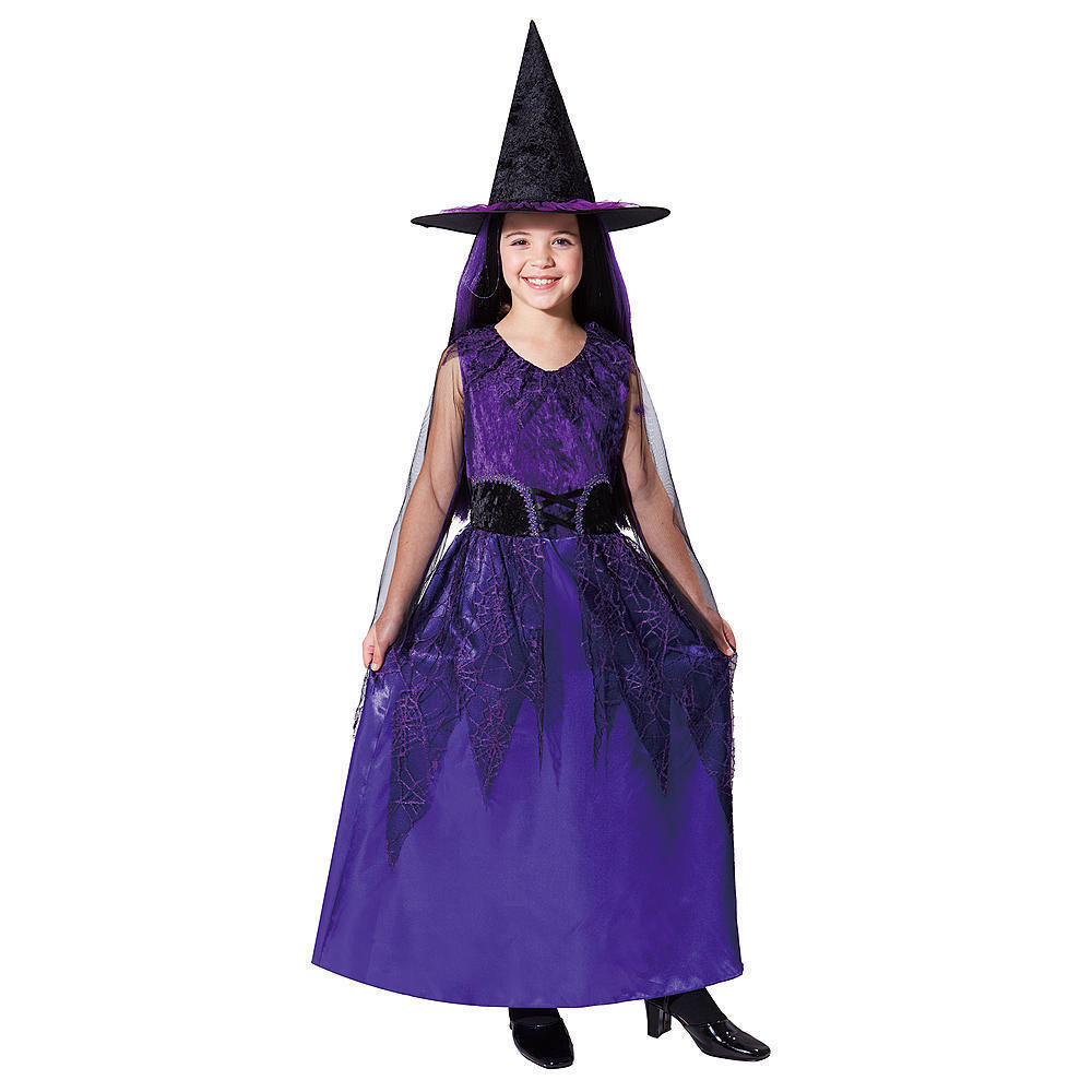 Deluxe Jubilee Purple Witch Halloween Costume - Magical Girl M