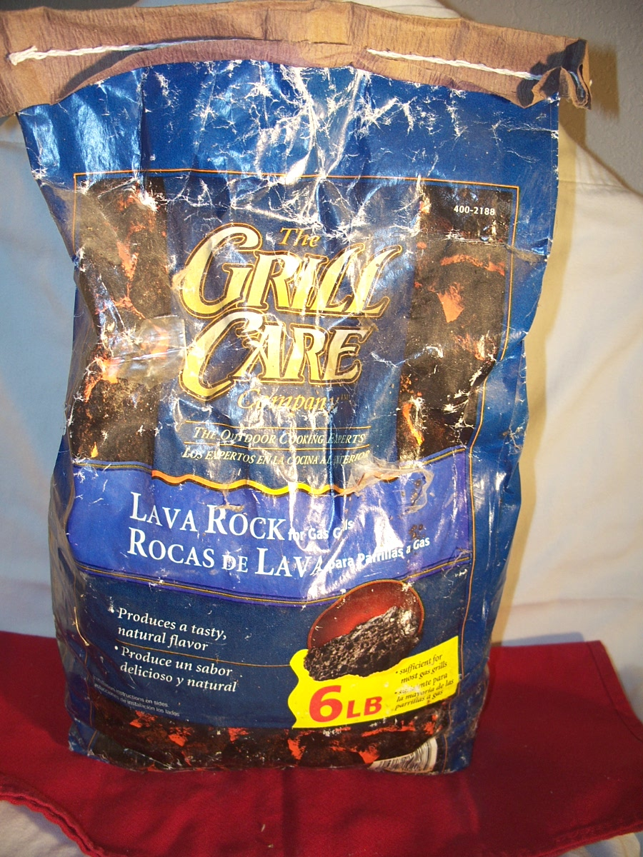 Grill Care Lava Rock for Gas Grills
