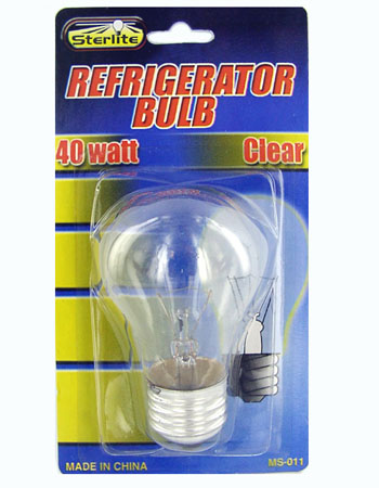 Incandescent Refrigerator Light Bulb