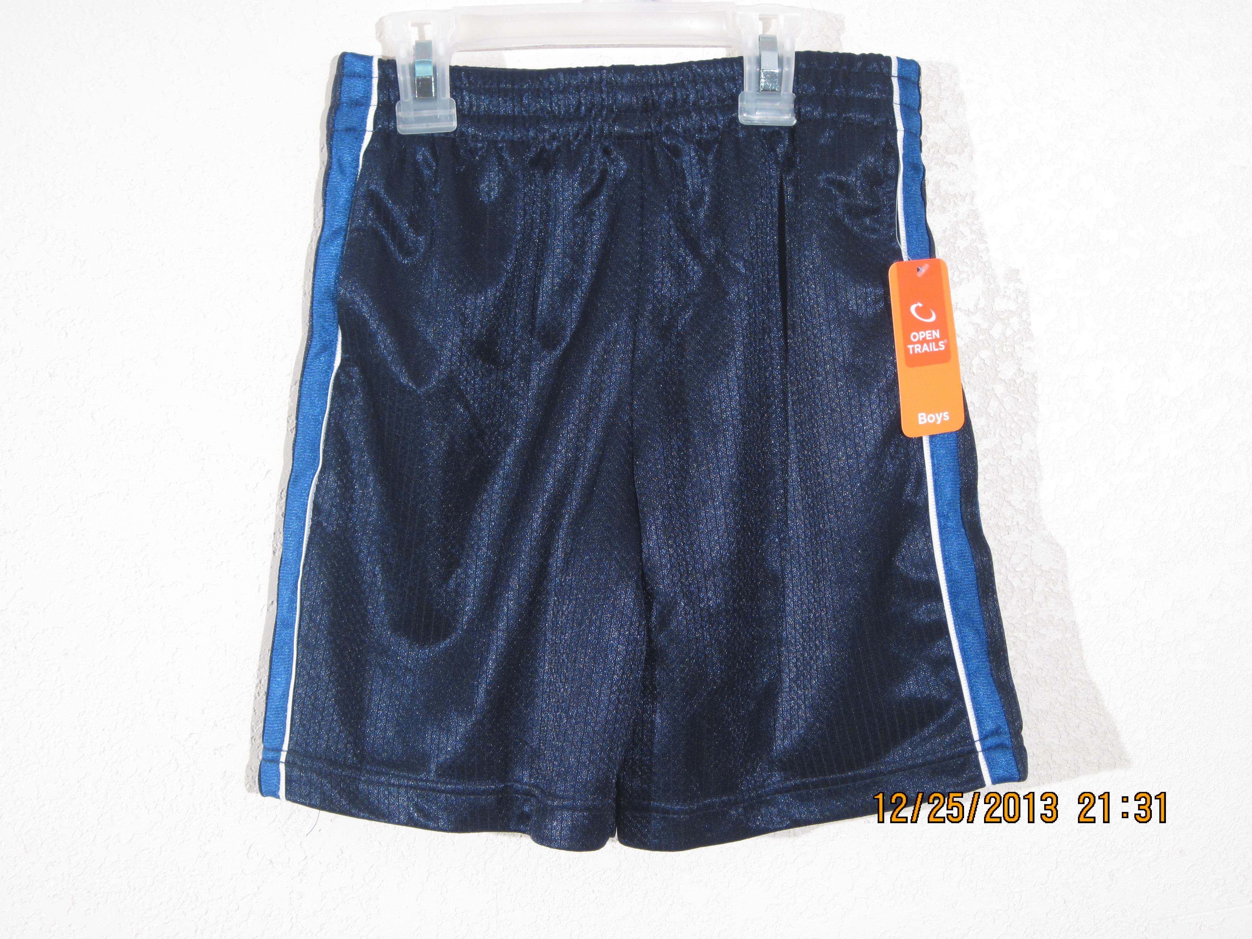 Open Trails SzS 6-7 Mesh Shorts Navy Blue with Blue,White,