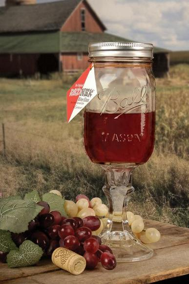 The Original Redneck Wine Glass 16oz