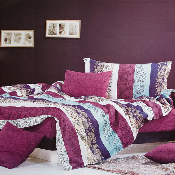 Blancho Bedding - [Love in the Rhine] 100% Cotton 4PC Comforter