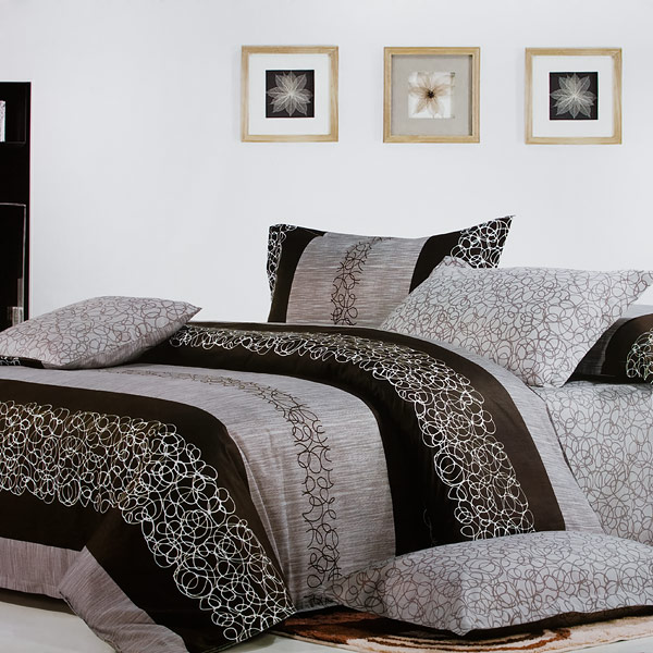 Blancho Bedding - [Charming Garret] 100% Cotton 4PC Comforter Co