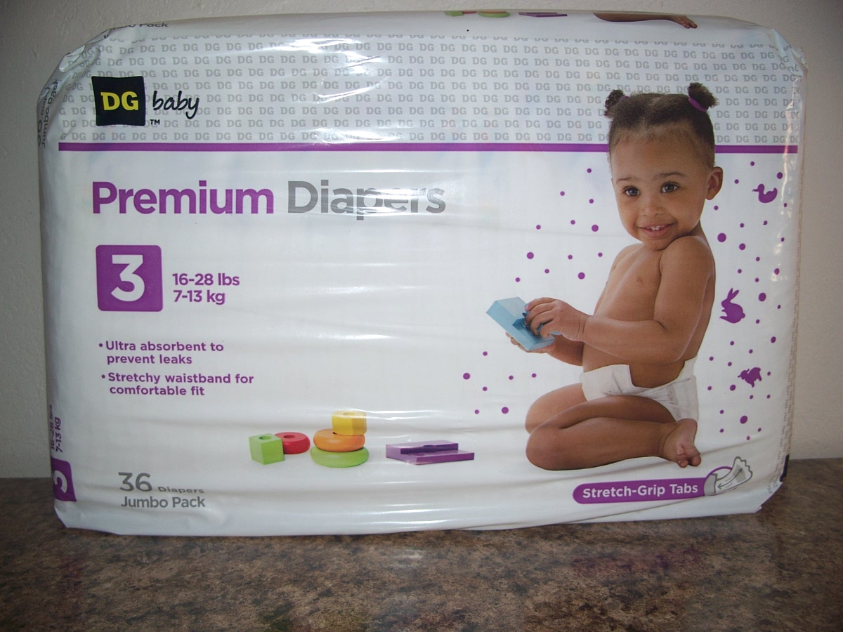 Premium Diapers 3 16-28 lbs (Convenience Pack)