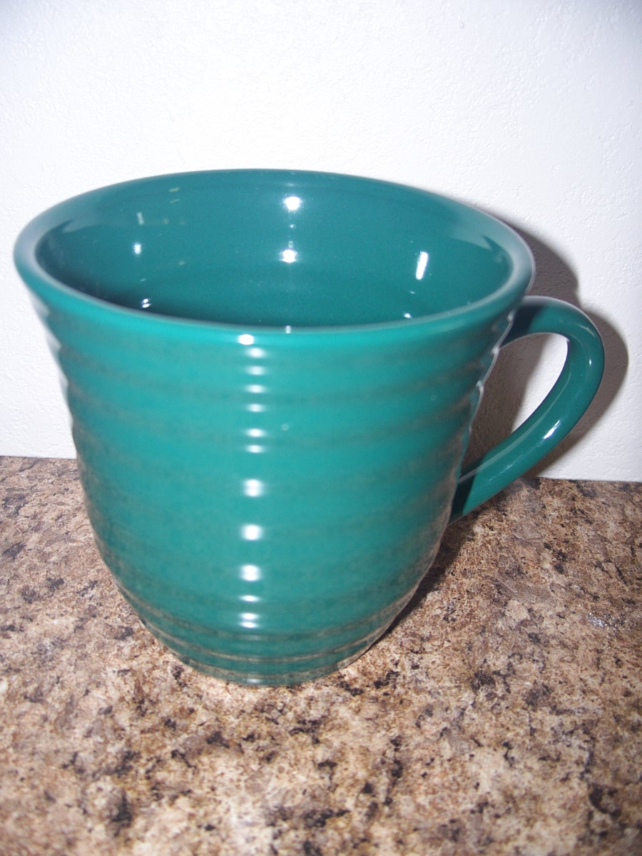 Ribbed Coffee Mug (Hunter Green)