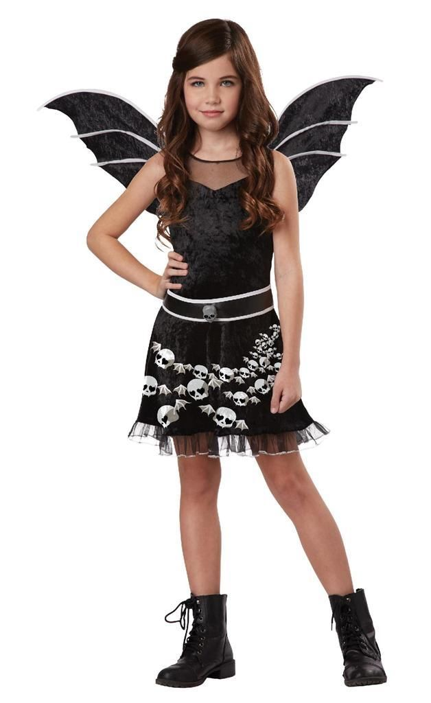 Totally Ghoul Sassy Bat Wings Belt For ages 10-14 Teen SZ L