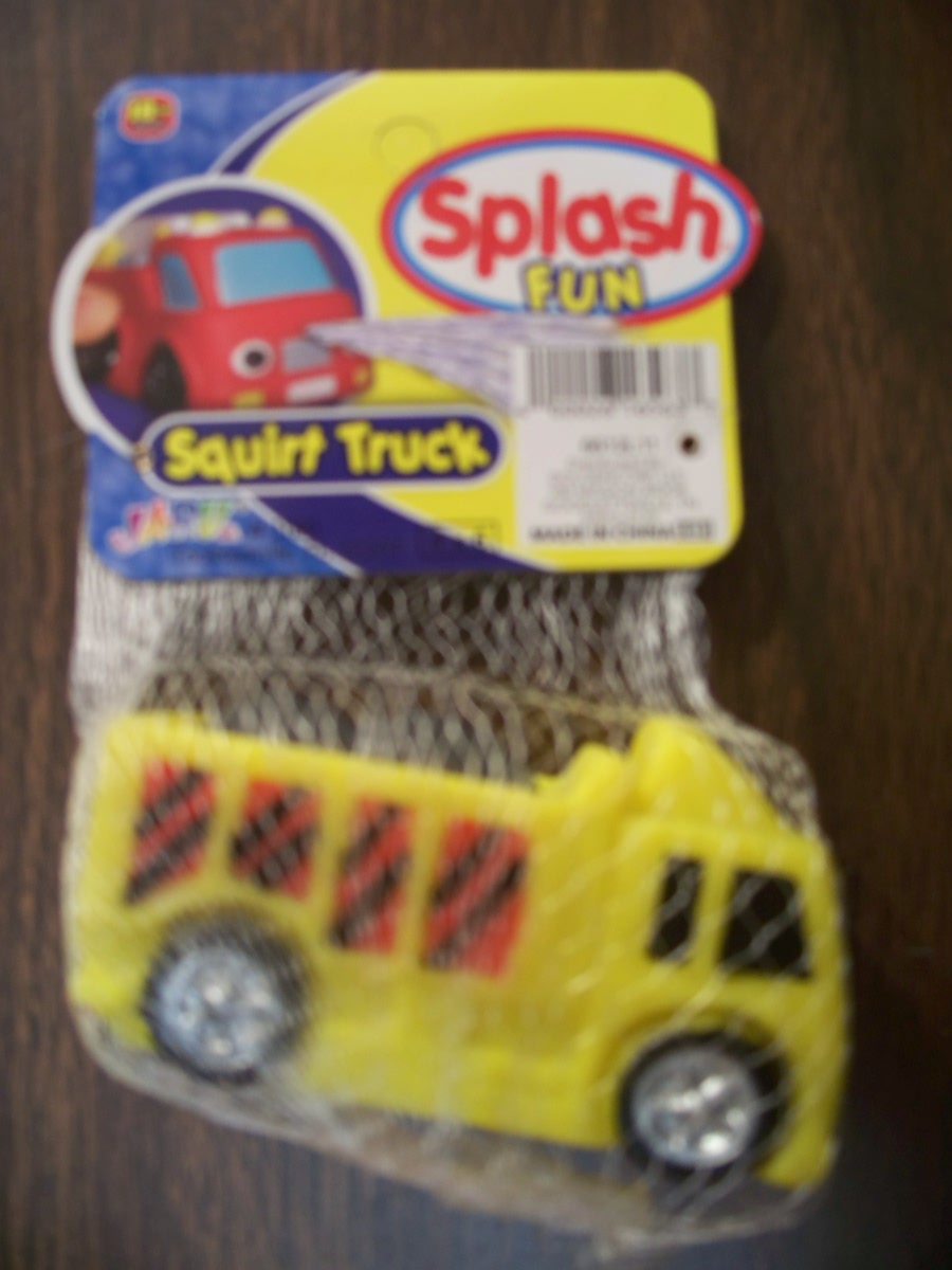Splash Fun Squirt Truck