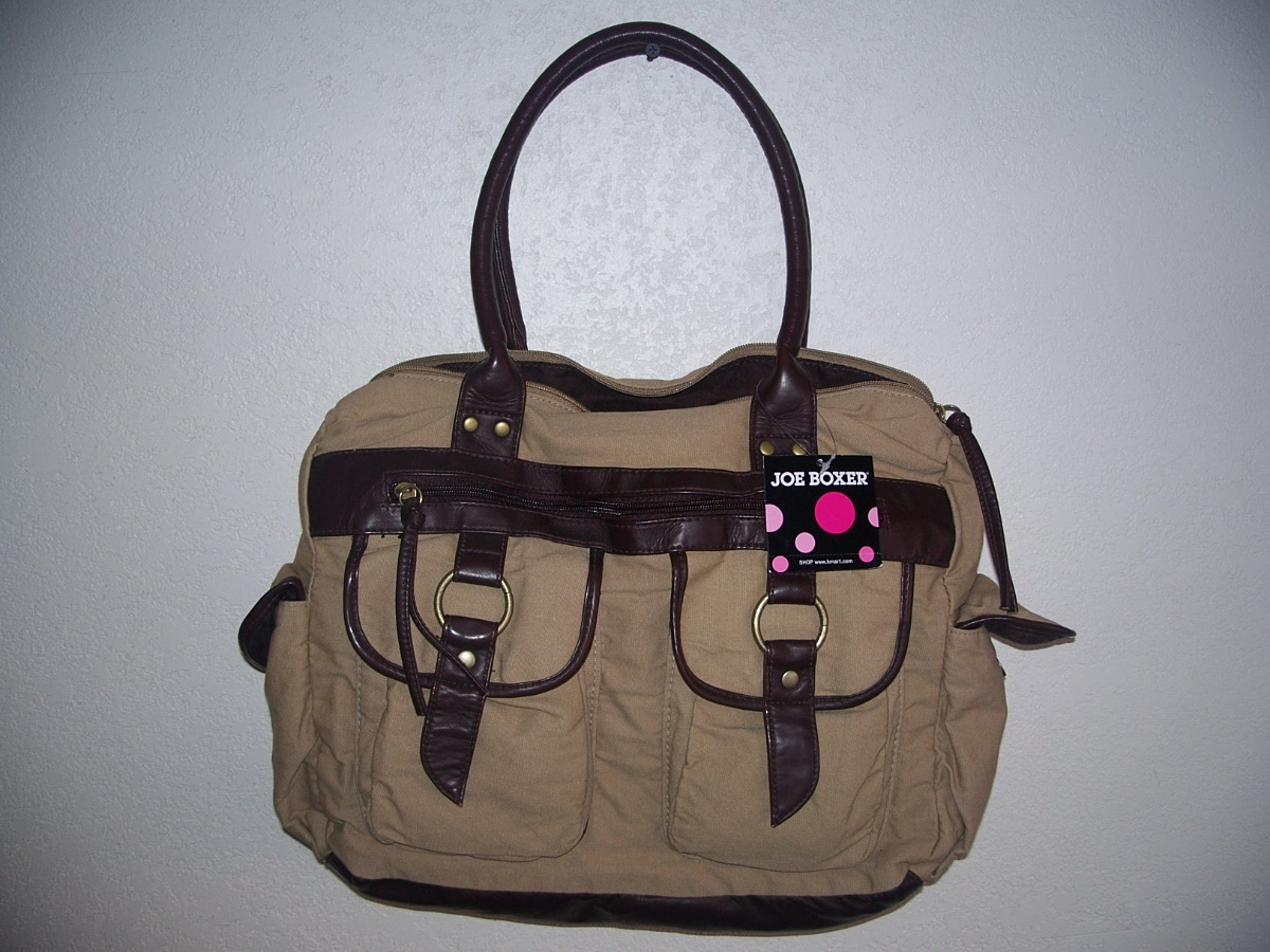 Joe Boxer Free Satchel Tan
