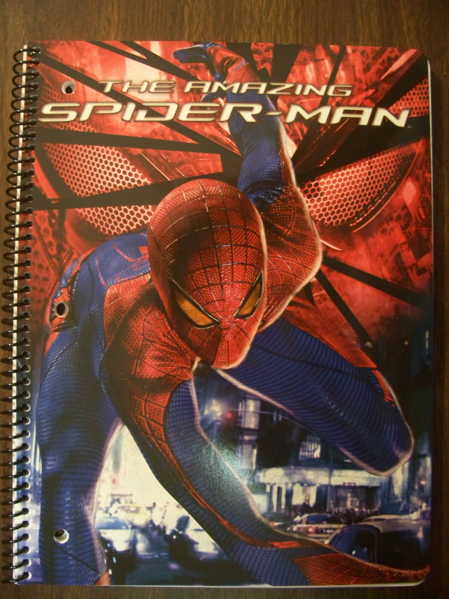 The Amazing Spider-man Notebook