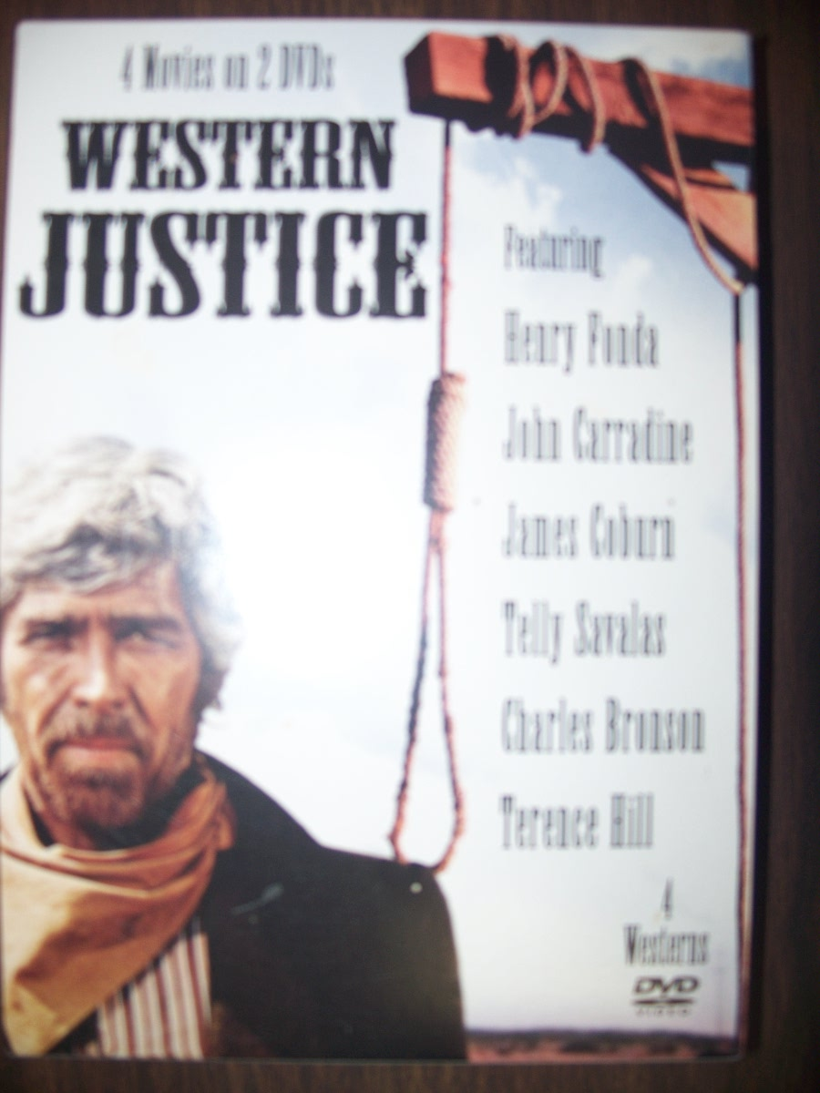 "4 Movies on 2 DVD ""Western Justice"""
