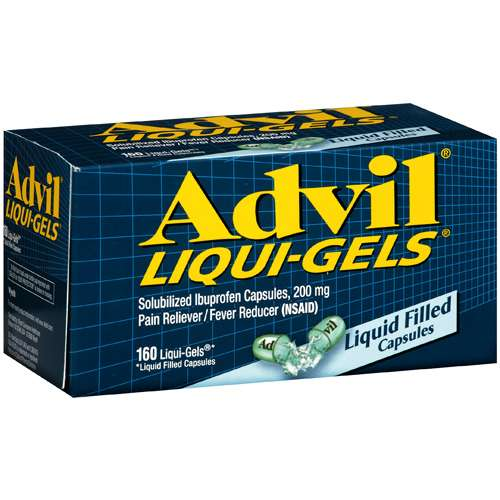 Advil Liquid Gel, 160ct