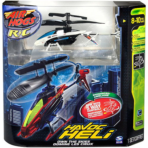 Air Hogs Havoc Heli Radio-Controlled Vehicle, Metallic Pearl Whi