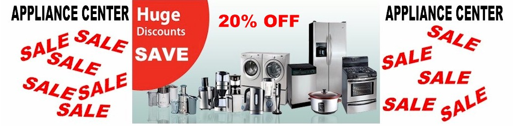 rsbslide5 20% OFF Appliance Sale