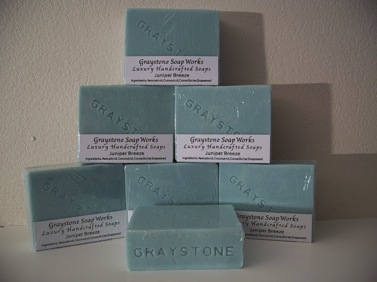 Graystone Soap Works Luxury Handcrafted Soaps - Juniper Breeze