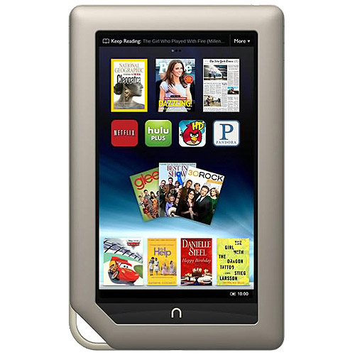 "Barnes & Noble Nook BNTV250 with Wi-Fi 7.0"" 1GHz 16GB Touchscree"