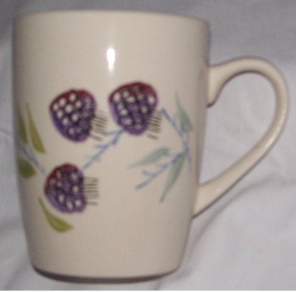 Berry Design Coffee Cup Dinnerware place setting 1pc