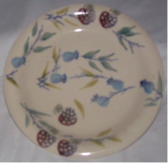 Berry Design Saucer Dinnerware place setting 1pc