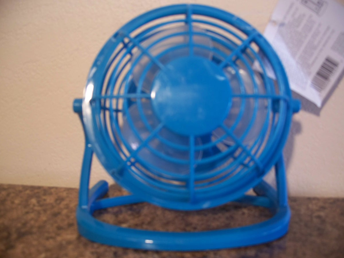 Desk Fan (Blue)