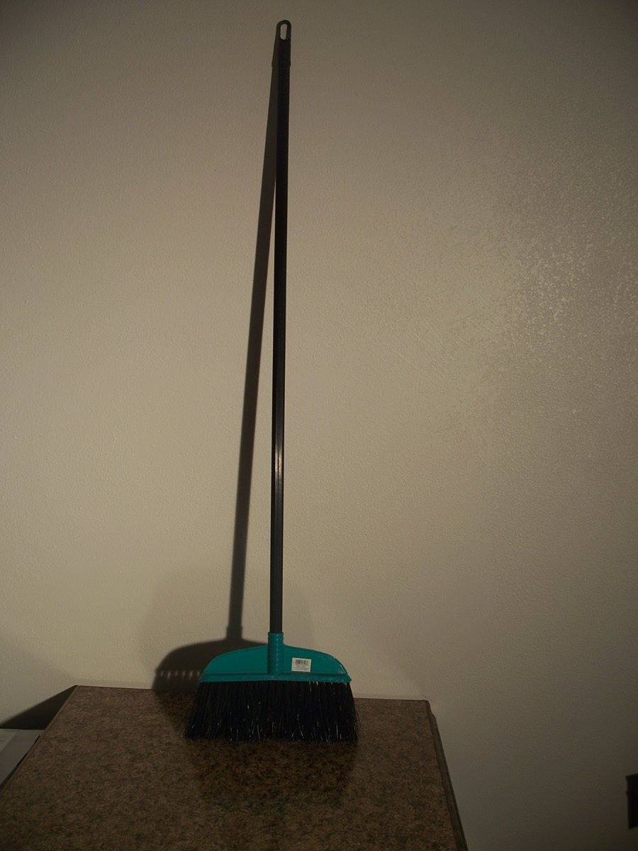 Broom Head with Black Handle (Green)