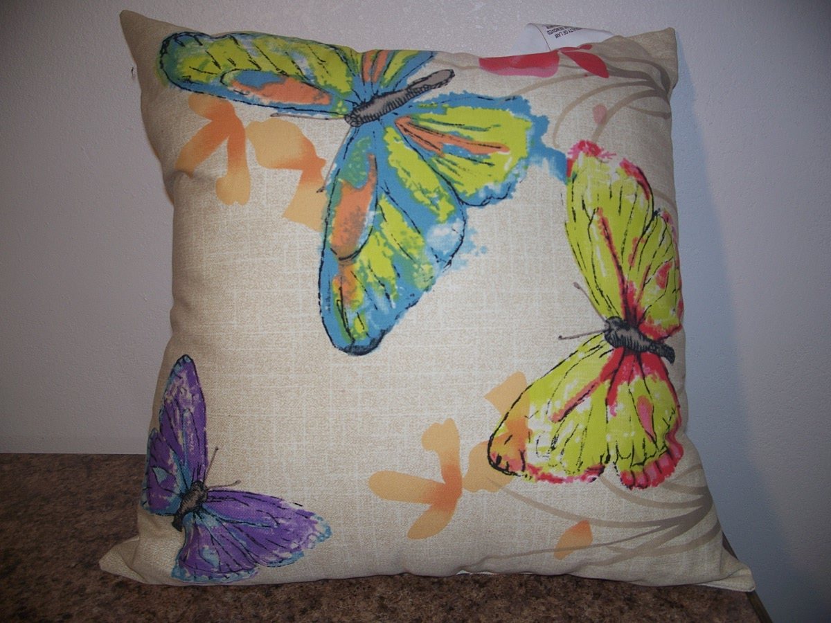 Decorative Butterfly Pillow