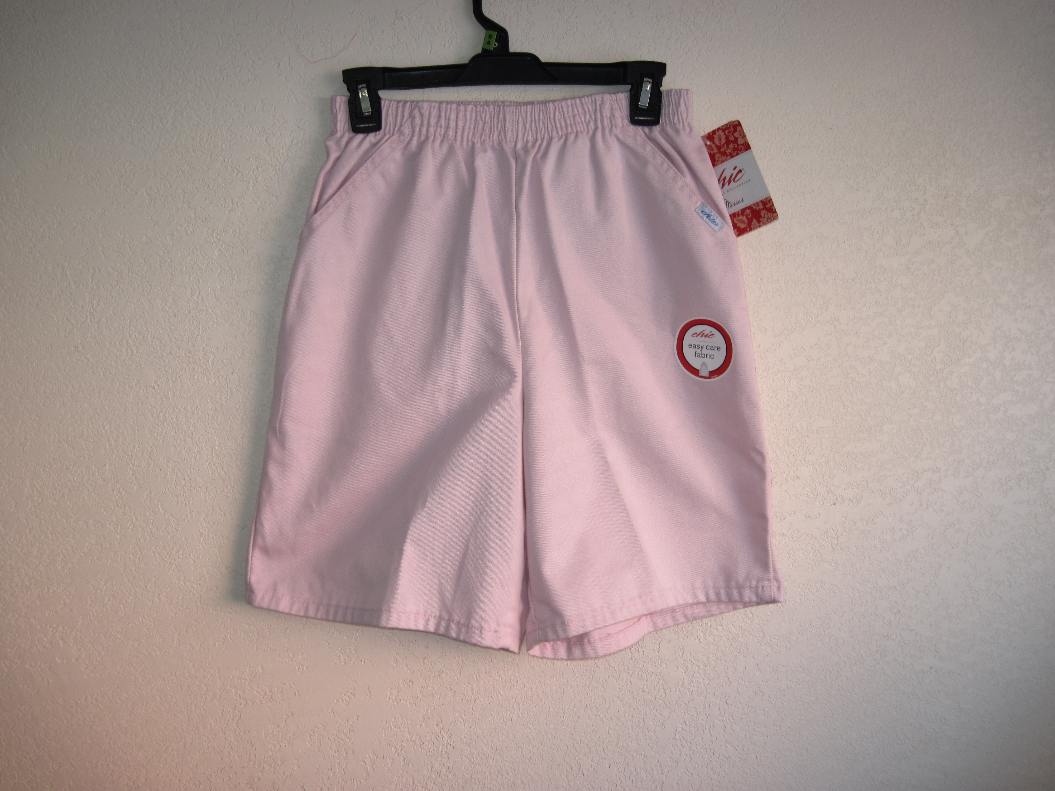 Chic Sz 8A Misses Shorts Pink