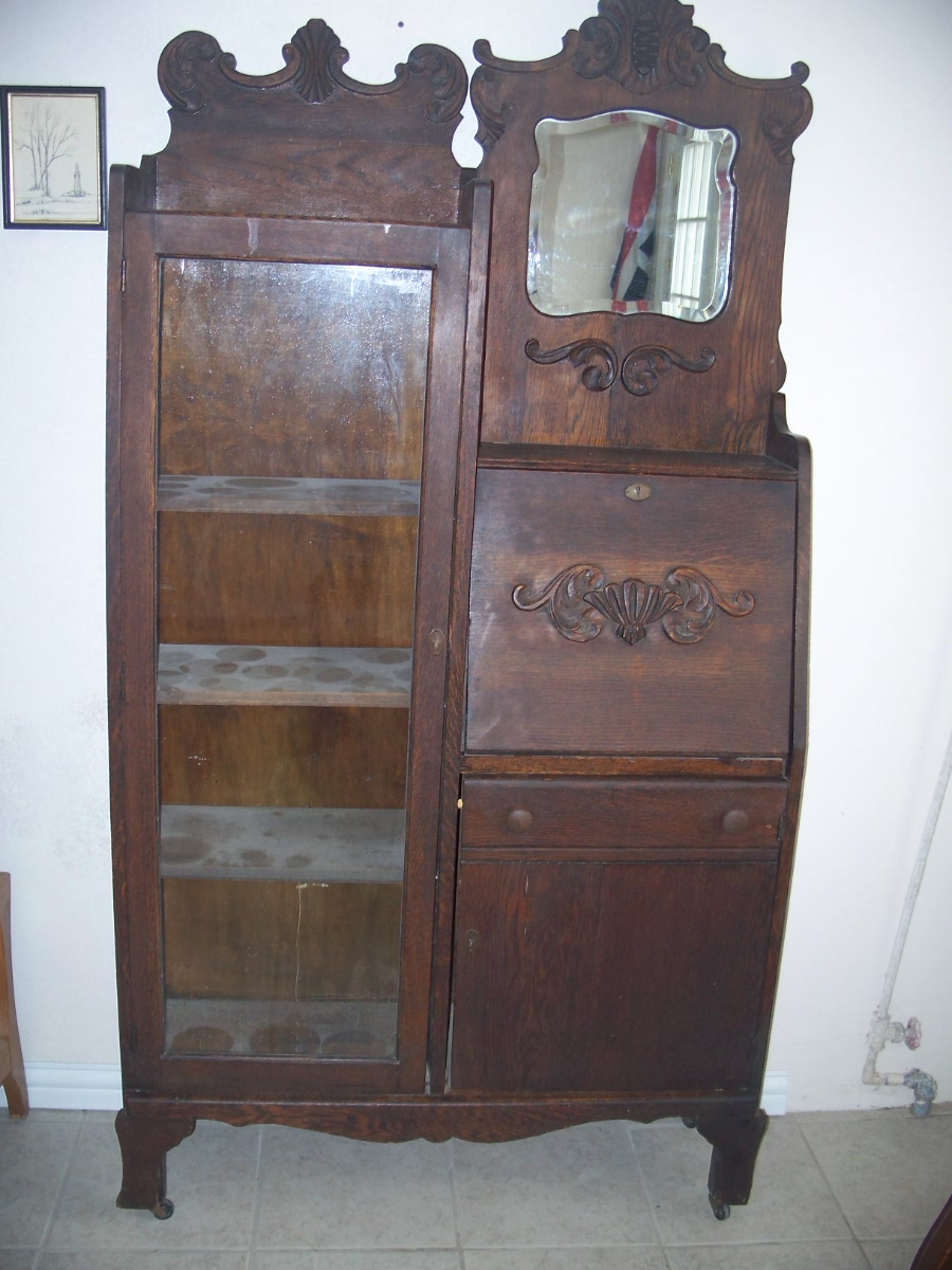 Vintage Collectable Antique Secretary