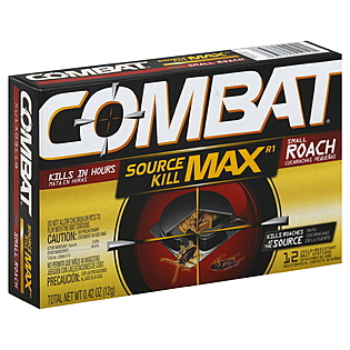 Combat Source Kill Max R1 Bait Stations for Roachs, 18 station