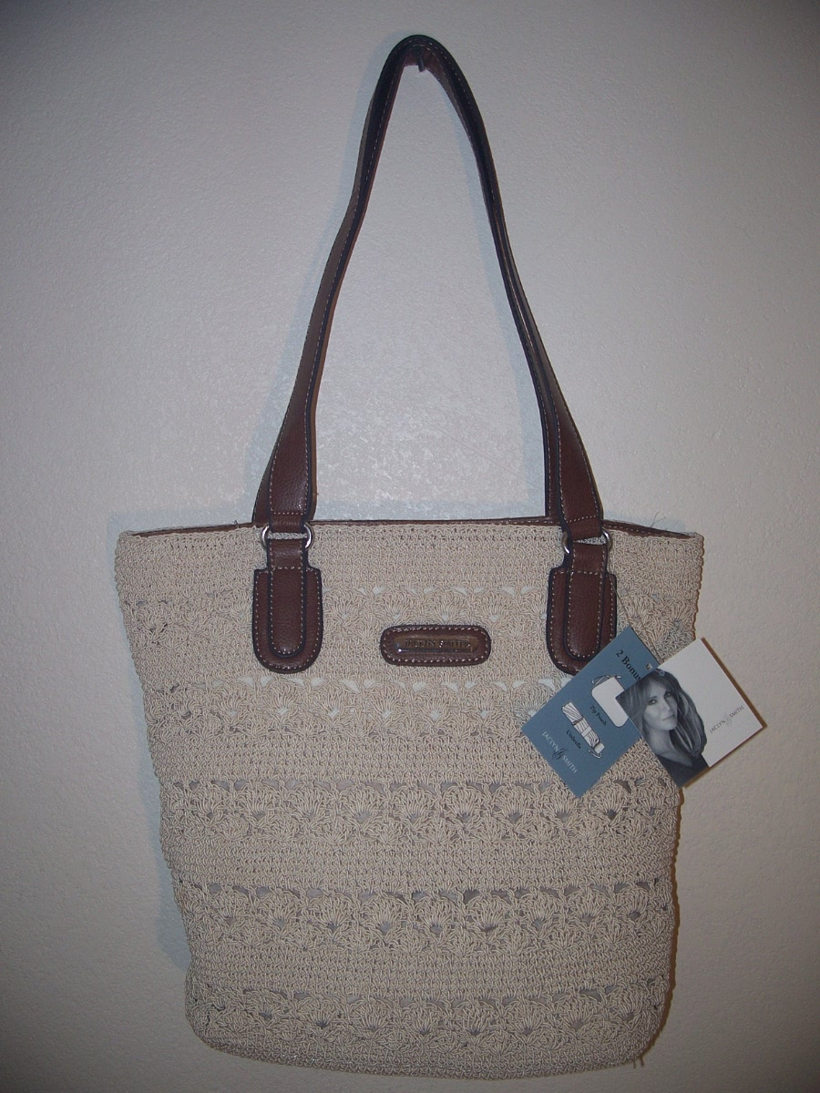 Jaclyn Smith Cream Tote Bag