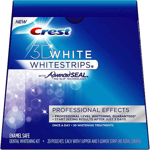 Crest 3D White Whitestrips With Advanced Seal Professional Effec