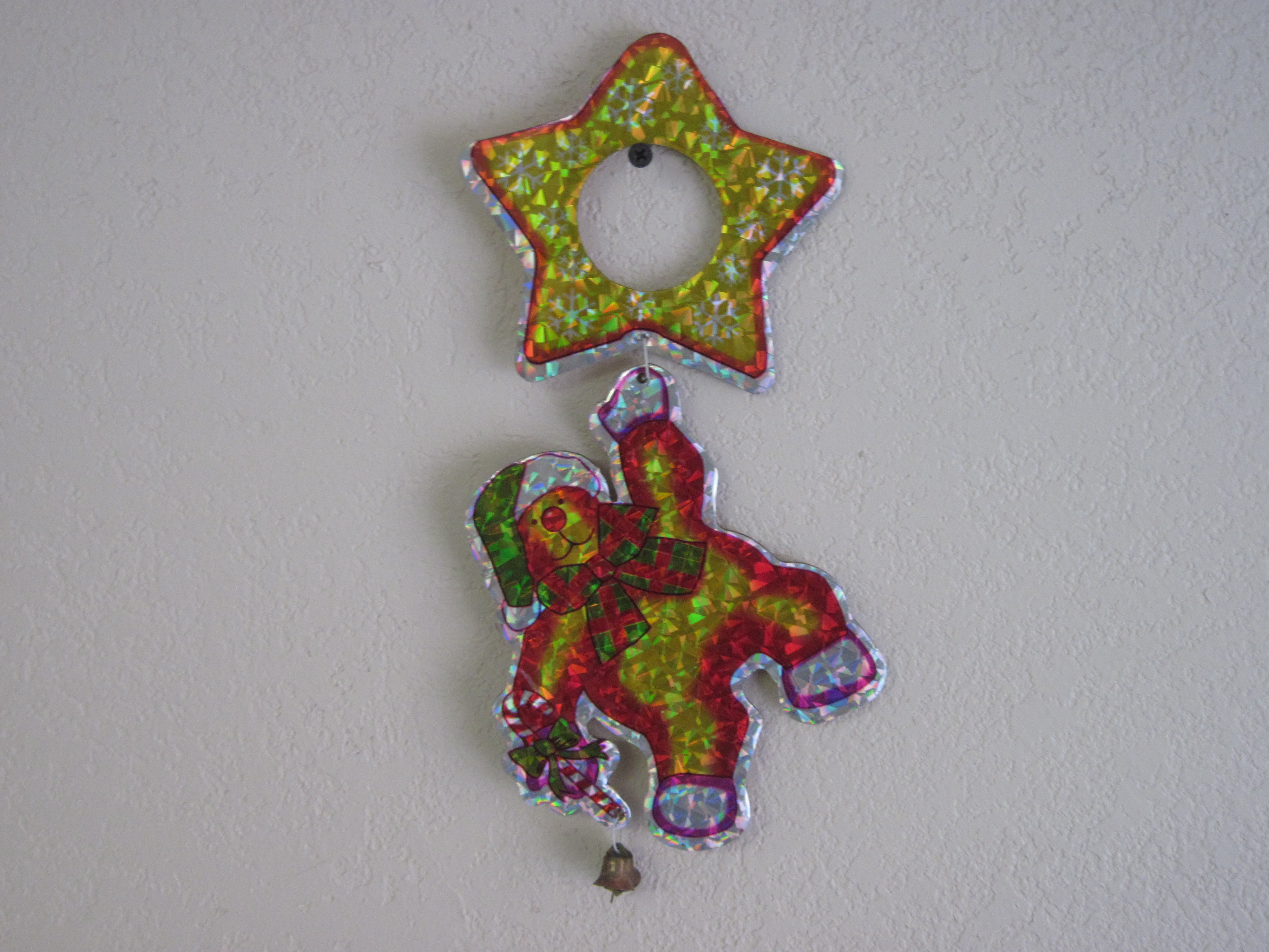 Door Knob Decoration - dancing bear with bells