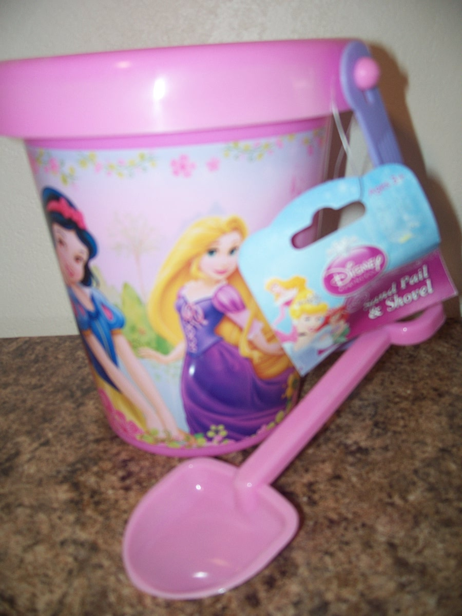 Plastic Dora Sand Pale and Shovel