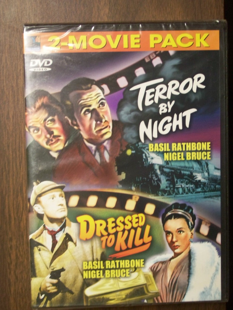 Double Feature~~Terror by Night / Dressed to Kill