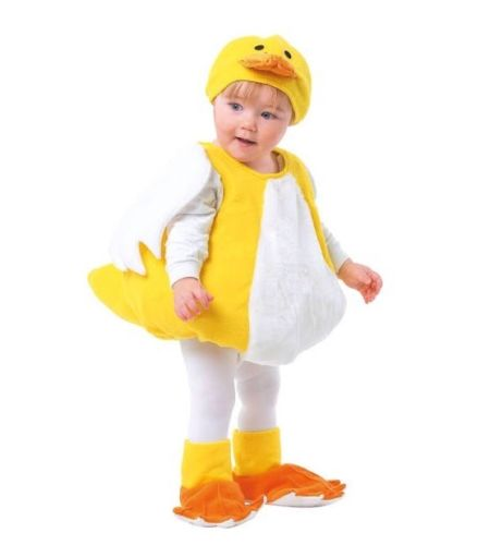 TOTALLY GHOUL DUCK VEST INFANT 1 -2 YEARS Body